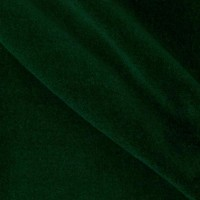 Forest Green Flocked Velvet Fabric
