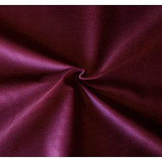 Maroon Cotton Velvet Fabric
