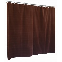 13 ft High Flocked Velvet Curtains w/Small Grommet Eyelet Top