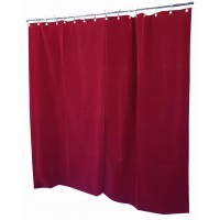 8 ft High Flocked Velvet Curtains w/Small Grommet Eyelet Top