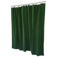 12 ft High Flocked Velvet Curtains w/Small Grommet Eyelet Top