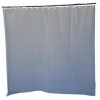 18 ft High Flocked Velvet Curtains w/Small Grommet Eyelet Top