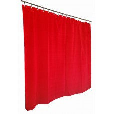 7 ft High Flocked Velvet Curtains w/Small Grommet Eyelet Top