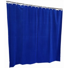 10 ft High Flocked Velvet Curtains w/Small Grommet Eyelet Top