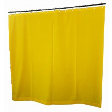 15 ft High Flocking Velvet Curtains w/Small Grommet Eyelet Top