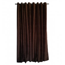 18 ft High Cotton Velvet Curtains With Grommet Eyelet Top