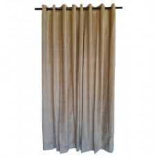 16 ft High Cotton Velvet Curtains With Grommet Eyelet Top