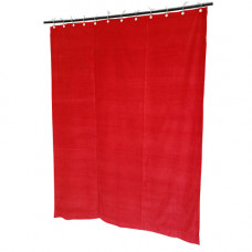 7 ft High Cotton Velvet Curtains With Small Grommet Eyelet Top