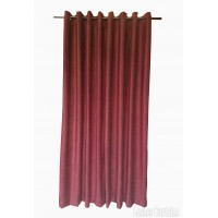 14 ft High Fire Rated Velvet Curtains w/Grommet Eyelet Top