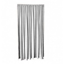 12 ft High Fire Rated Velvet Curtains w/Rod Pocket Top