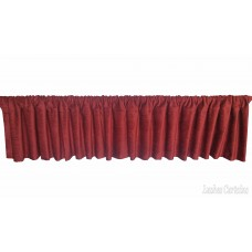 Fire Rated Window Valance w/Rod Pocket Top