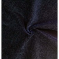 Blue Fire Rated Velvet Fabric
