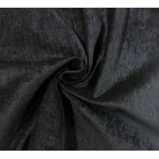 Black Fire Rated Velvet Fabric