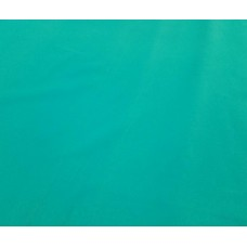 Turquoise Flocked Velvet Fabric