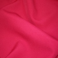 Fuchsia Flocked Velvet Fabric