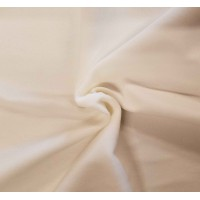 White Cotton Velvet Fabric