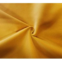 Yellow Cotton Velvet Fabric