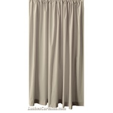 18 ft Flocked Velvet Curtains w/Rod Pocket Top