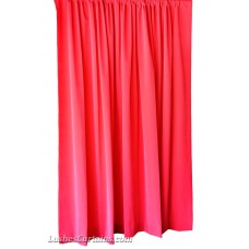 Used Fuchsia Flocked Velvet Curtains 5 ft w x 9 ft h