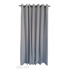 18 ft High Flocked Velvet Curtains With Grommet Eyelet Top
