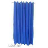 10 ft High Flocking Velvet Curtains With Grommet Eyelet Top