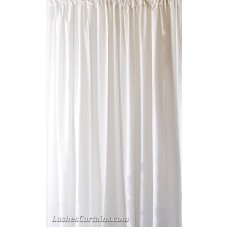 7 ft High Flocked Velvet Curtains w/Rod Pocket Top