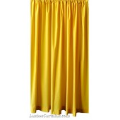 10 ft High Flocking Velvet Curtains w/Rod Pocket Top
