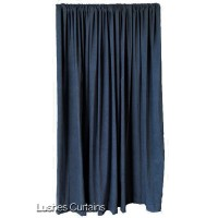 16 ft High Cotton Velvet Curtains