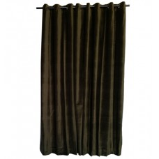 12 ft High Cotton Velvet Curtains With Grommet Eyelet Top