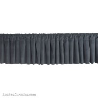 Cotton Velvet Rod Pocket Top Window Valances