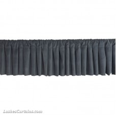 Cotton Velvet Window Valance w/Rod Pocket Top
