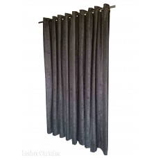7 ft High Fire Rated Velvet Curtains w/Grommet Eyelet Top