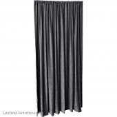 10 ft High Fire Rated Velvet Curtains w/Rod Pocket Top