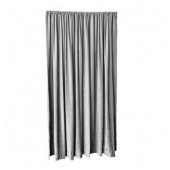 13 ft High Fire Retardant Velvet Curtains w/Rod Pocket Top