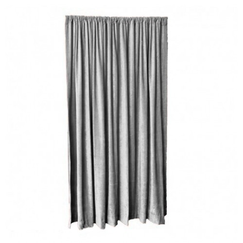 9 Ft High Fire Rated Velvet Curtains With Rod Pocket Top