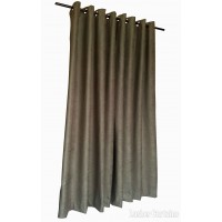 12 ft High Fire Rated Velvet Curtains w/Grommet Eyelet Top