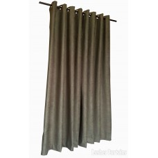12 ft High Fire Rated Velvet Curtains With Grommet Eyelet Top