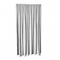 18 ft High Fire Rated Velvet Curtains w/Rod Pocket Top