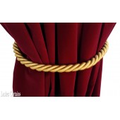 Gold Curtain Thick Rope Tie Backs