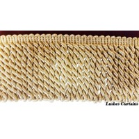 "Gold Bullion 3 1/4"" Fringe Trim"